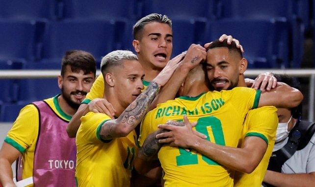 JO : le Brésil dompte l'Egypte et rejoint le dernier carré