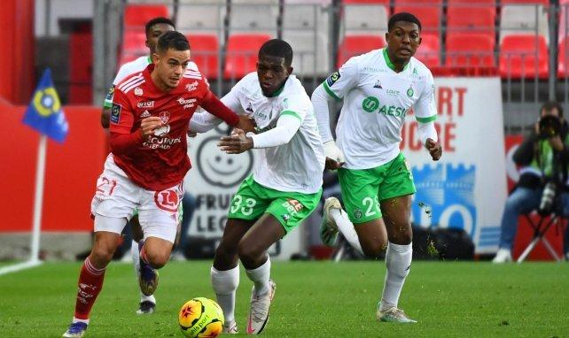 Romain Faivre contre l'AS Saint-Étienne