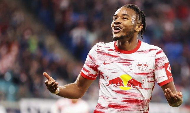 RB Leipzig : Christopher Nkunku légèrement touché à l'entraînement