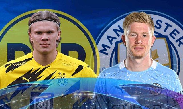 Borussia Dortmund - Manchester City : les compositions probables