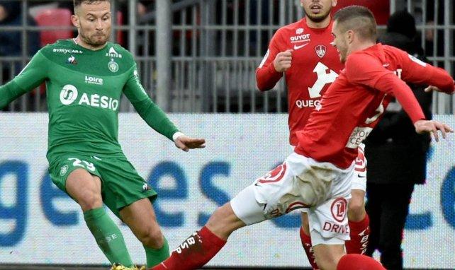 Yohan Cabaye sous le maillot de l'AS Saint-Etienne