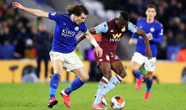 Caglar Soyuncu avec Leicester