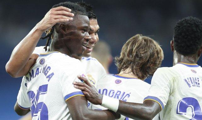 Real Madrid : Eduardo Camavinga savoure la victoire face à l'Inter Milan