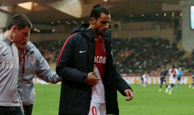 Nacer Chadli lors de son unique saison à Monaco
