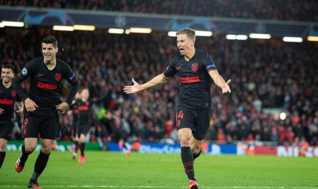 Marcos Llorente a permis à l'Atlético de Madrid d'éliminer Liverpool en huitième de finale de la Ligue des Champions