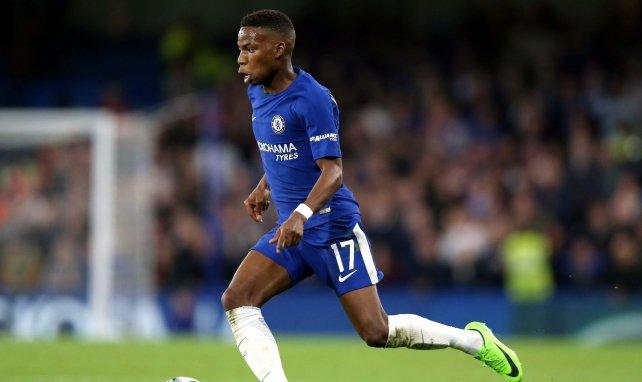 Charly Musonda en action avec Chelsea en 2017