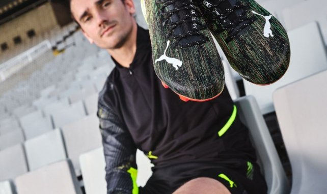 Puma dévoile un nouveau coloris pour les chaussures d'Antoine Girezmann