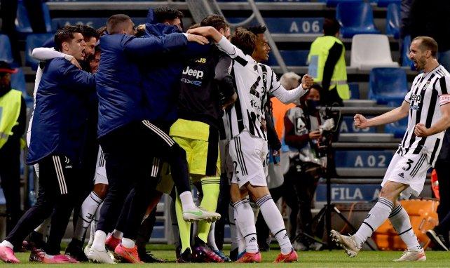 La joie de Giorgio Chiellini et des Bianconeri