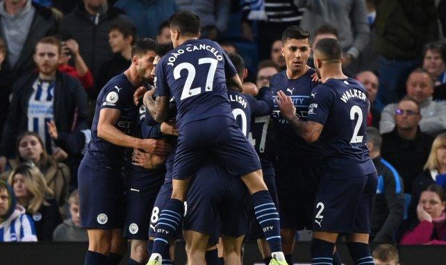 LIVE : Manchester City prend le large face à Brighton !
