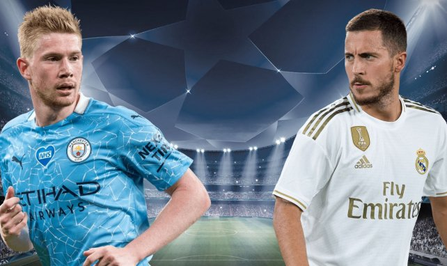 Manchester City-Real Madrid : les compositions officielles