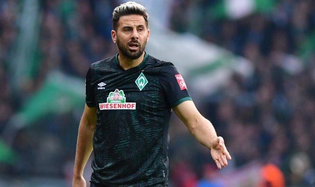 Claudio Pizarro sous le maillot du Werder Brême