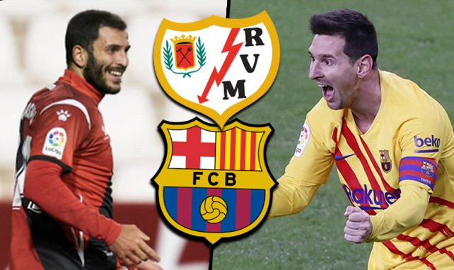 Rayo Vallecano-FC Barcelone : les compositions probables