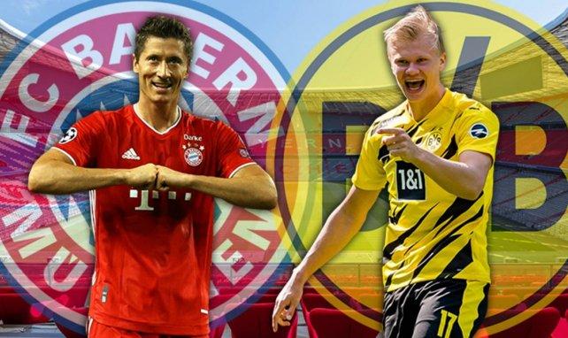 Bayern Munich - Borussia Dortmund : les compositions sont tombées