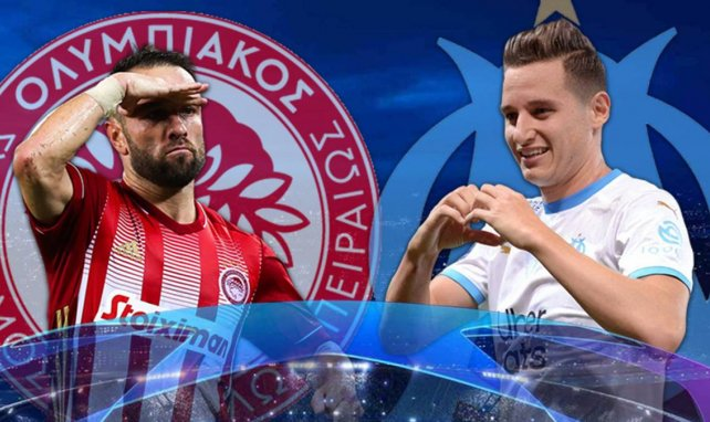 Olympiakos - OM : les compositions officielles