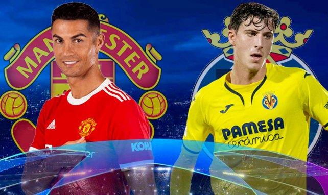 Les compos officielles de Manchester United-Villarreal