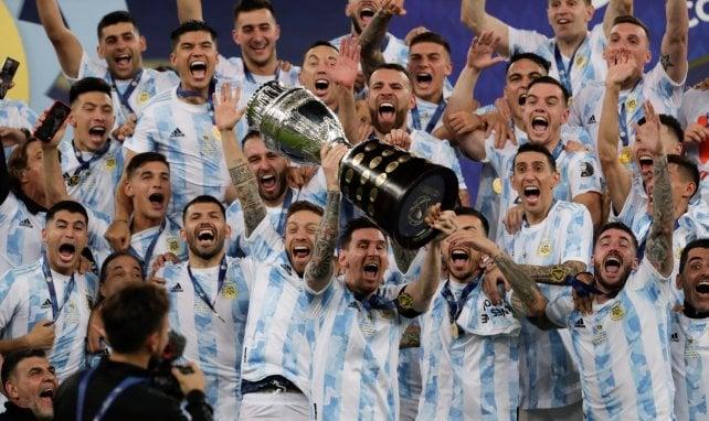 L'Argentine de Lionel Messi a décroché sa 15e Copa América face au Brésil