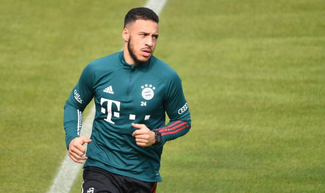 Corentin Tolisso à l'entraînement du Bayern