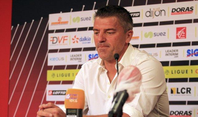 Grégory Coupet est entraîneur des gardiens à Dijon