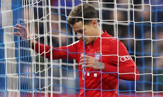 Coutinho opéré de la cheville — Bayern