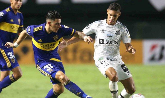 Cristian Pavon sous le maillot de Boca Juniors