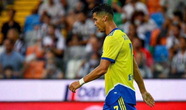 Cristiano Ronaldo a vécu une drôle de soirée contre l'Udinese.