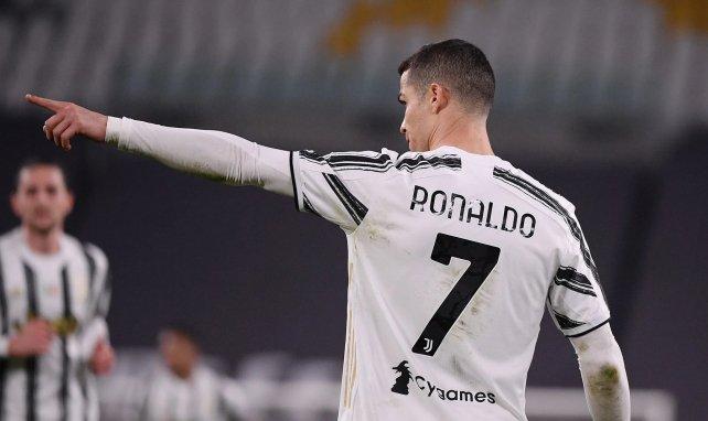 Cristiano Ronaldo avec la Juventus