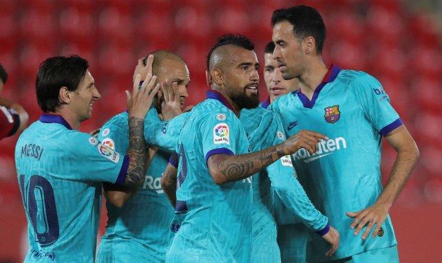 Le Barça s'est promené à Majorque