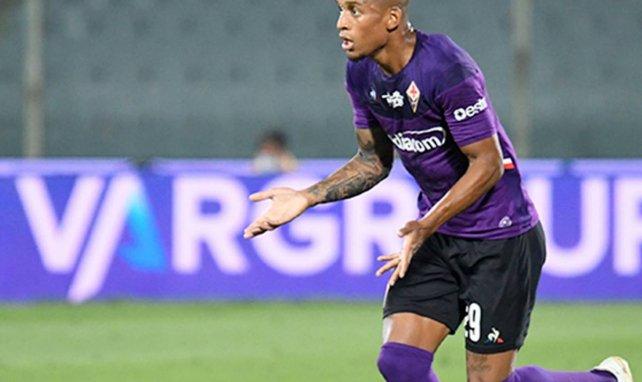 Dalbert avec la Fiorentina