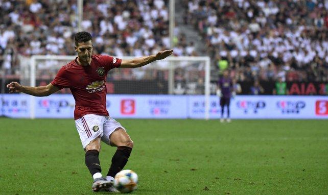 Diogo Dalot ici à l'oeuvre avec Manchester United