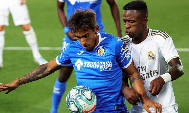 Damian Suarez, ici sous le maillot de Getafe face au Real Madrid de Vinicius Jr