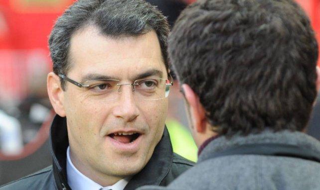 Damien Comolli, en 2009, lors d'une rencontre entre le PSG et l'ASSE