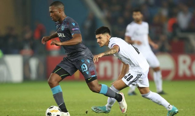 Daniel Sturridge lors de la rencontre entre Trabzonspor et le FC Bâle
