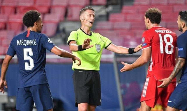 LdC : l'arbitre de la finale perdue par les Parisiens au sifflet de PSG-Bayern