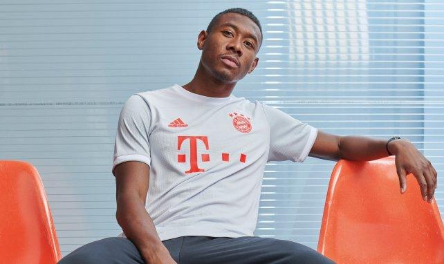 David Alaba, défenseur du Bayern Munich