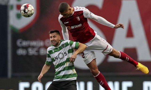 David Carmo, ici sous le maillot du Sporting Braga contre le Sporting CP