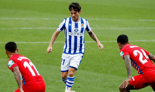 Real Sociedad : David Silva stoppé net