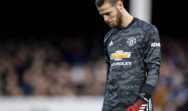 David De Gea est dans une mauvaise passe à Manchester United