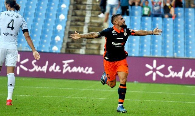L1, MHSC : Andy Delort forfait face au PSG