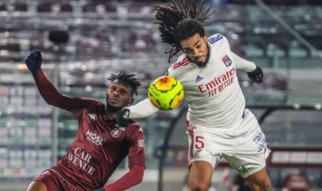 Jason Denayer et l'Olympique Lyonnais s'imposent à Metz