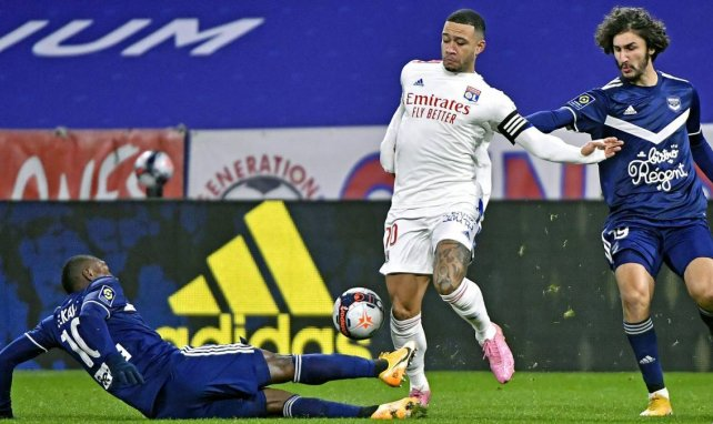 Depay face à Bordeaux