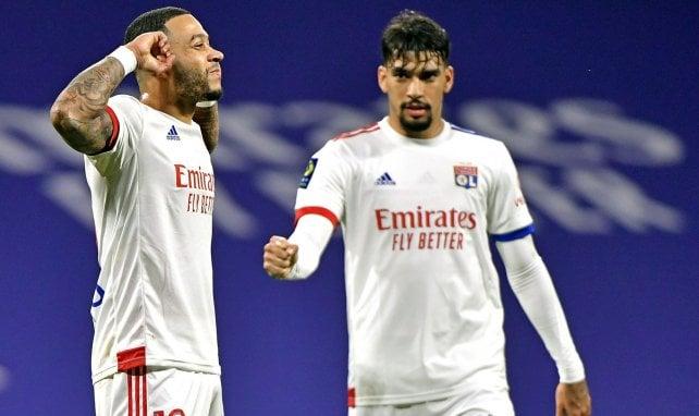Ligue 1 : grâce à un doublé de Memphis Depay, l'OL se défait de Nantes
