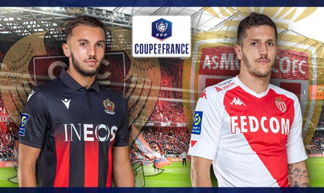 Nice - Monaco : les compositions officielles