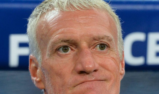 Didier Deschamps lors du match France-Turquie
