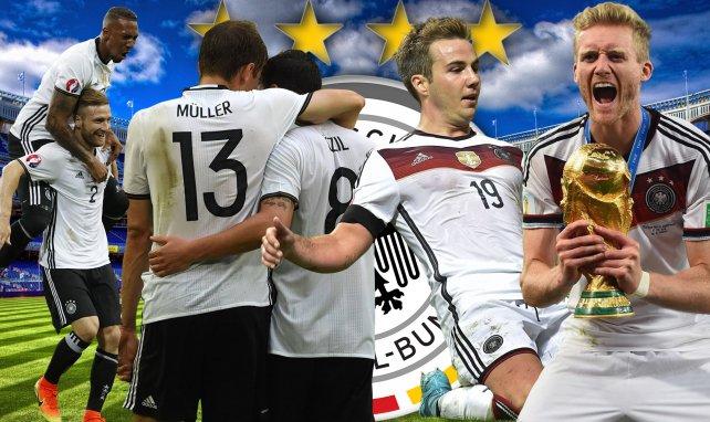 Boateng, Mustafi, Müller, Özil, Götze et Schürrle champions du monde en 2014