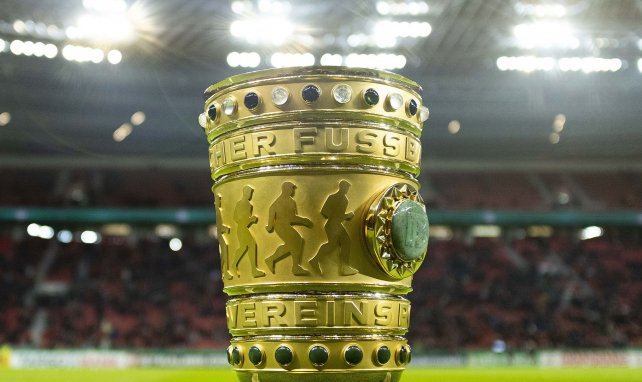 Le trophée de la Coupe d'Allemagne
