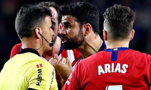 Diego Costa condamné à une lourde peine — Atletico Madrid