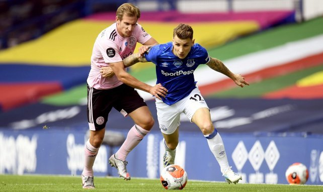 Everton : Lucas Digne out 2 mois