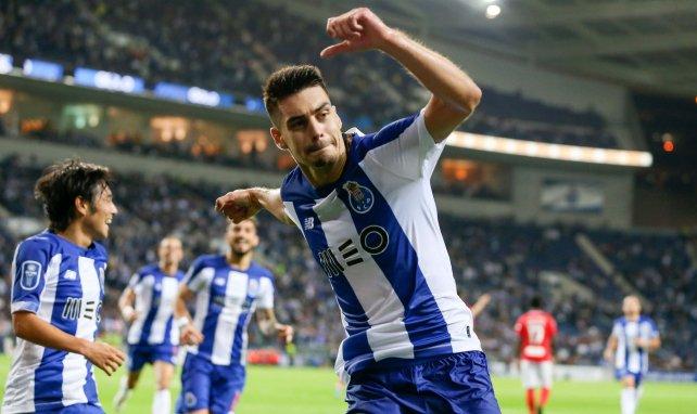 Diogo Leite après un but avec le FC Porto en septembre 2019