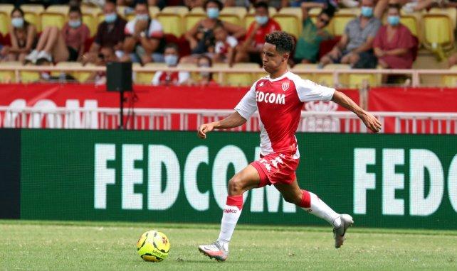 Sofiane Diop sous le maillot de l'AS Monaco