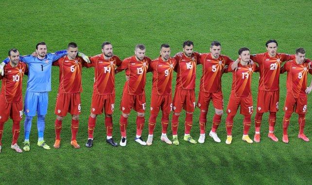 La sélection de Macédoine du Nord